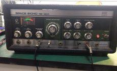Roland RE-201磁带延时效果器维修+内部图